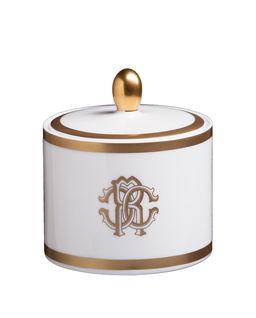Cukiernica z porcelany Silk Gold