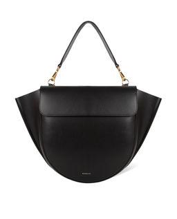 Czarna torebka Hortensia Medium