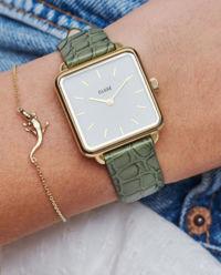 Zegarek La Tetragone Gold Green