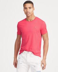 T-shirt Custom Slim Fit czerwony