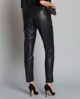 Spodnie z naturalnej skóry