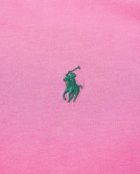 T-shirt z logo różowy