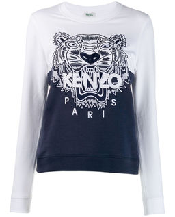 Bluza z tygrysem Colorblock