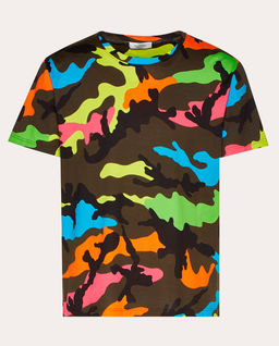 T-shirt Camouflage Fluo