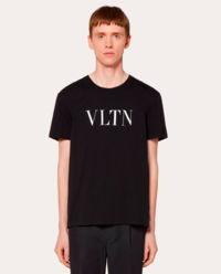 T-shirt  VLTN czarny