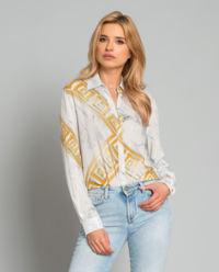Koszula z marmurowym printem