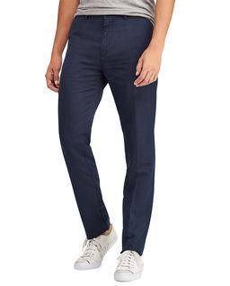 Spodnie z lnu Classic Fit