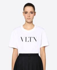 T-shirt VLTN biały