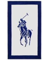 Ręcznik plażowy Polo Jacquard
