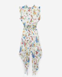Sukienka z jedwabiem