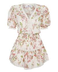 Sukienka z jedwabiu Rosie Cream