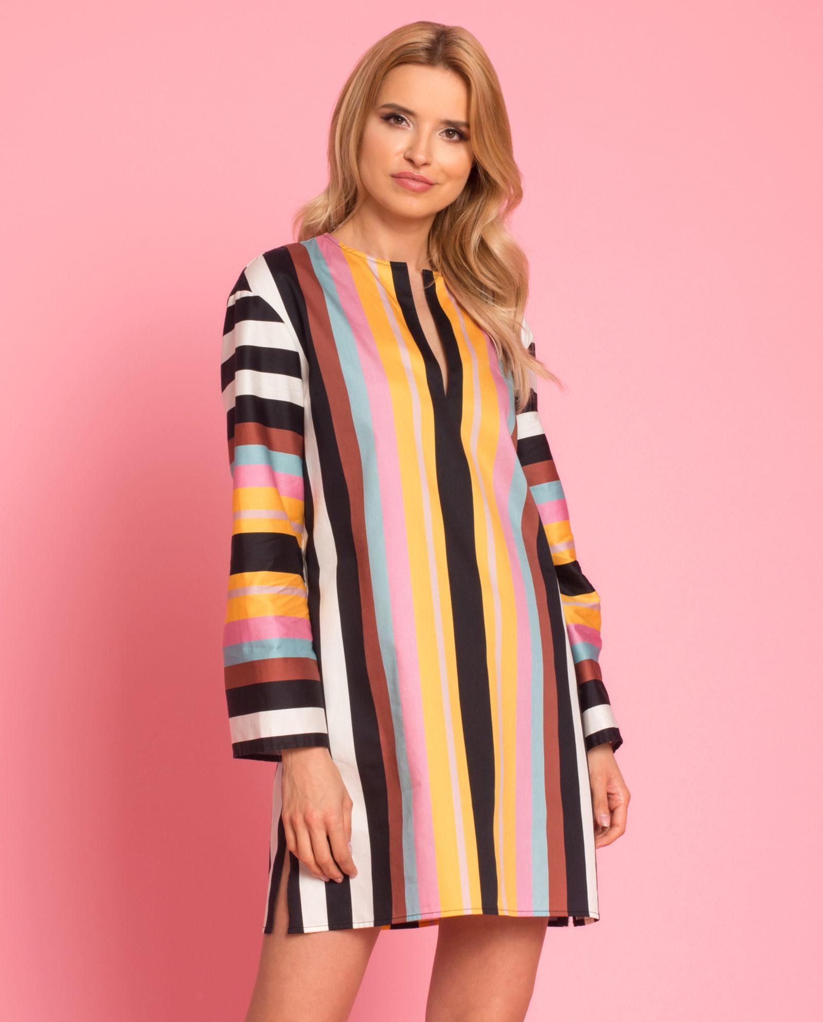 5eaa92fcca532e Sukienka plażowa w paski TORY BURCH – Kup Teraz! Najlepsze ceny i opinie!  Sklep Moliera2.com