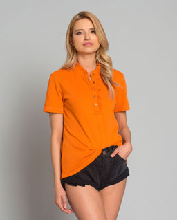 T-shirt Emily pomarańczowy