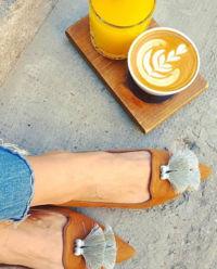 Loafery zamszowe Ella