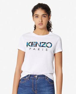 T-shirt z logo Peonies