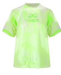 T-shirt Splash Lime