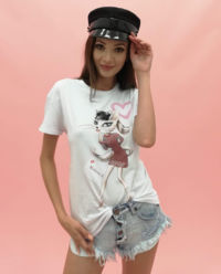 T-shirt Kobieta Kot Moliera 2 - EDYCJA LIMITOWANA