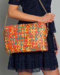 Pleciona torebka na ramię