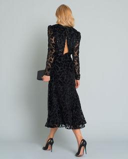 Sukienka w cętki lamparta