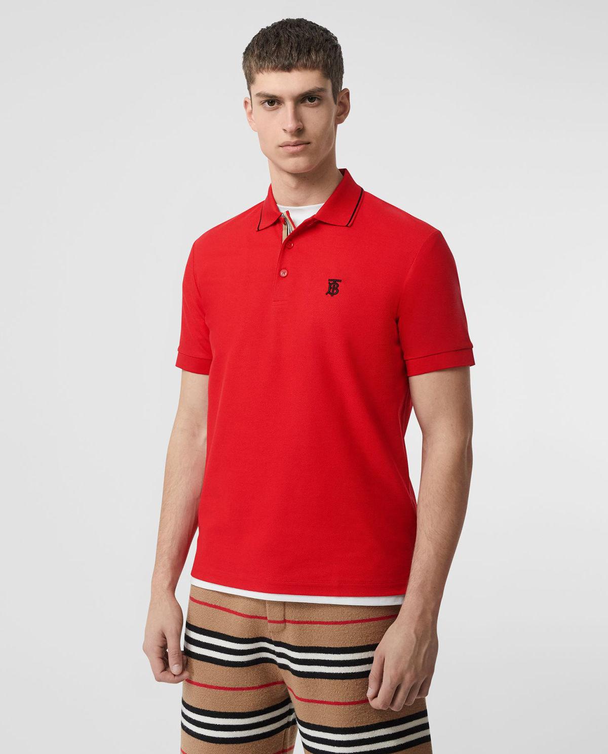 fed2c011d Koszulka polo z monogramem BURBERRY – Kup Teraz! Najlepsze ceny i opinie!  Sklep PlacTrzechKrzyzy.com