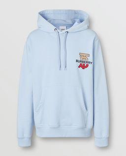 Bluza z kapturem z logo