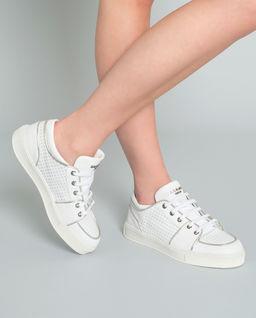 Sneakersy z logo marki