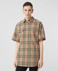 Koszula w kratę oversize