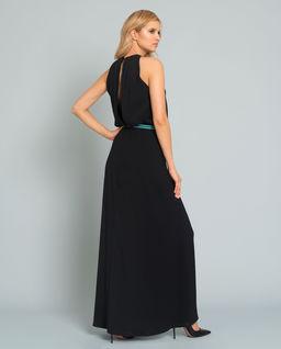 Sukienka maxiz logowaniem