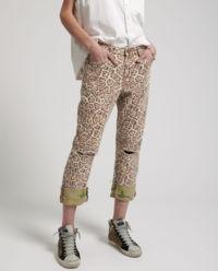Spodnie Leopard