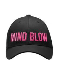 Černá čepice Mind Below