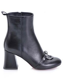 Kožené kotníkové boty Maggiore