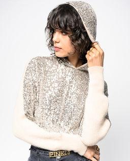 Sweter z cekinami Poiche