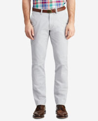Spodnie chinosy szare
