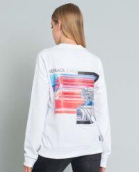 Bluza z nadrukiem i logo