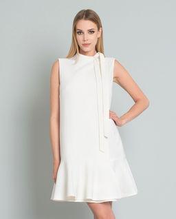 Sukienka mini z wełny