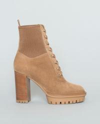 Semišové boty Martis