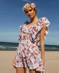 Sukienka w kwiaty Rosa