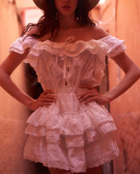 Sukienka z falbankami Mona