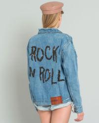 Kurtka jeansowa Rock n Roll