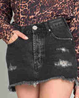 Spódnica jeansowa Black Sea