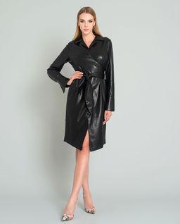 Sukienka z wegańskiej skóry Ailsa