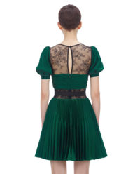 Plisowana sukienka mini