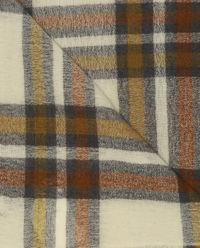 Vlněný kostkovaný šátek