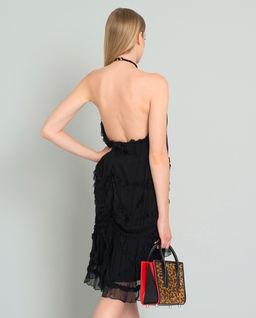 Czarna sukienka mini