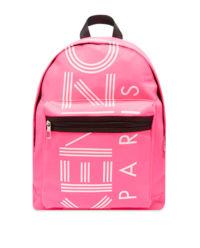 Růžový batoh s logem