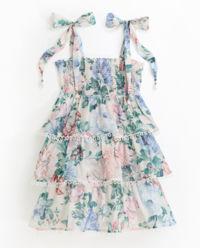 Sukienka w kwiaty 4-10 lat