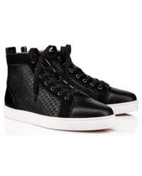 Czarne sneakersy Louis Orlato