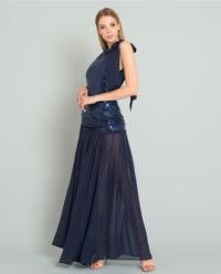 Sukienka maxi z cekinami