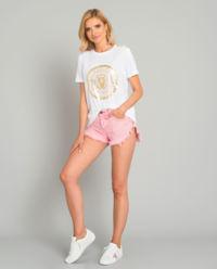 Růžové šortky Evil Eye
