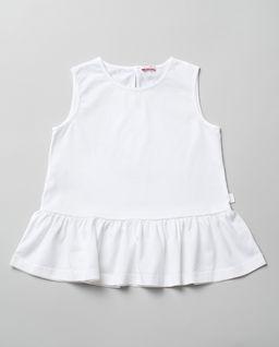Biała bluzka z bawełny